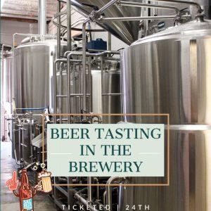 Beer Tasting in the Brewery