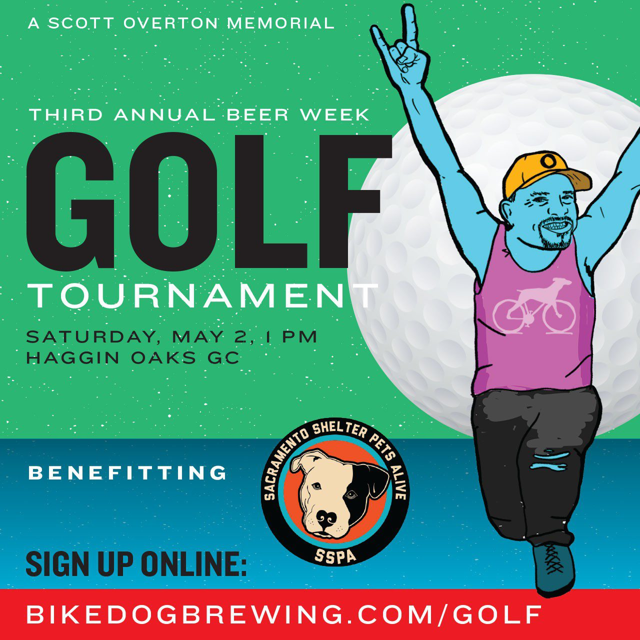 Bike Dog Golf Tournament
